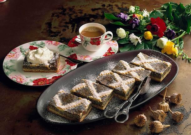 Mohn-Vanille-Kuchen Rezept