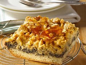 Mohnkuchen mit Streuseln Rezept