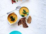 Möhren-Cremesuppe ganz ohne Crème fraîche Rezept