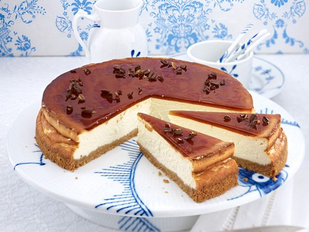 Cheesecake – the American Way of Käsekuchen - mokka-cheesecake