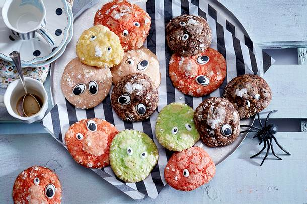 Monster-Cookies Rezept