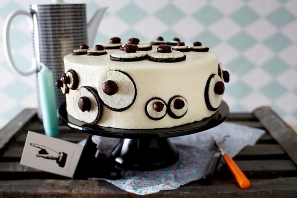 Monster-Eye-Cake Rezept