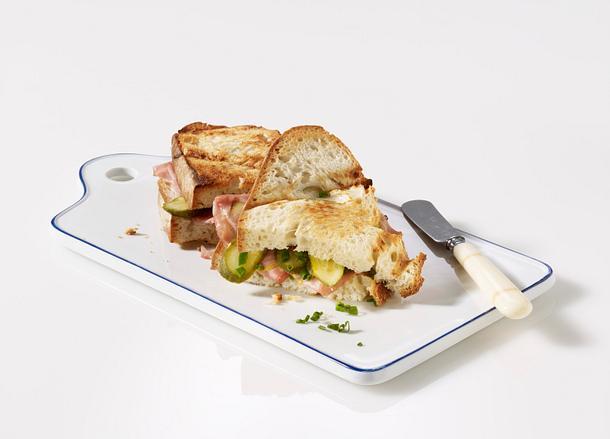 Mortadella-Brot (Sandwich) Rezept