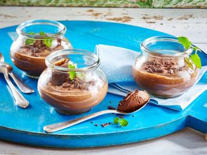 Vegane Mousse au Chocolat
