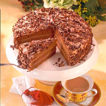 Mousse-au-Chocolat-Torte Rezept