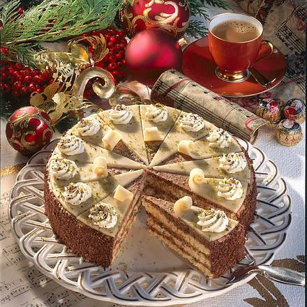 Mozart-Torte Rezept