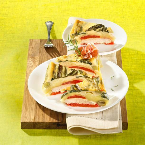 Mozzarella-Auflauf Rezept