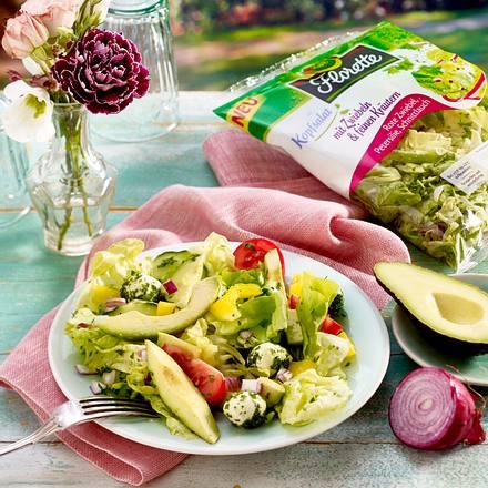 Mozzarella-Avocado-Salat Rezept