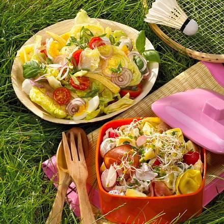 Mozzarella-Ei-Salat Rezept