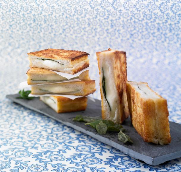 Mozzarella in Carrozza Rezept