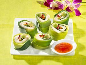 Mozzarella-Sushi Rezept