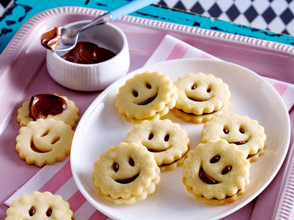 Mürbeteig Smileys Rezept