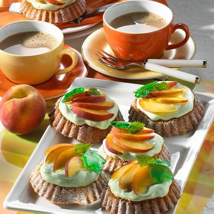 Mürbeteig-Torteletts mit Frischkäse Rezept