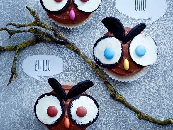 Muffin-Eulen Rezept