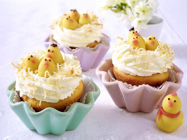 Muffin-Kükennester Rezept