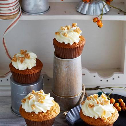 Muffins mit Frischkäse-Topping Rezept