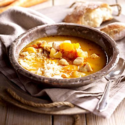 Mulligatawny-Suppe Rezept