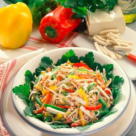 Mungobohnensprossen-Salat Rezept