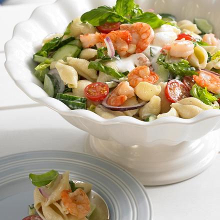 Muschelnudel-Salat Rezept