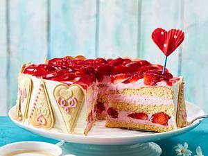 Muttertags-Erdbeer-Torte Rezept