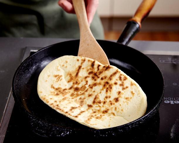 Naan-Brot Rezept