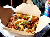 Nasi Goreng mit Shrimps Rezept