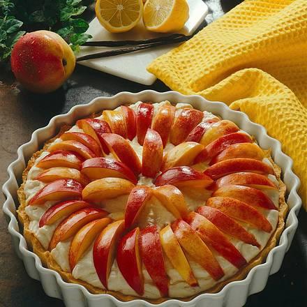 Nektarinen-Frischkäse-Torte Rezept