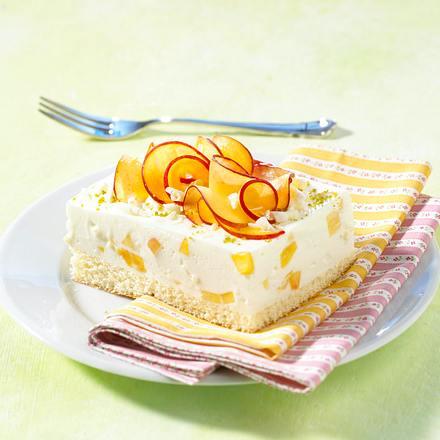 Nektarinen-Joghurtschnitten Rezept