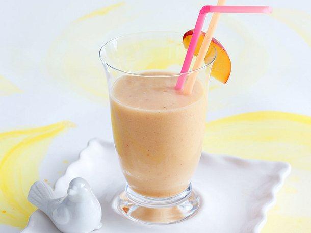 Nektarinen-Melonen-Bananen-Smoothie Rezept