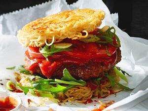New York - Ramen-Burger Rezept