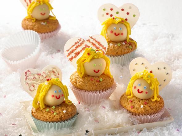 Niedliche Engel-Muffins Rezept