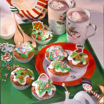 Niedliche Krokant-Muffins Rezept