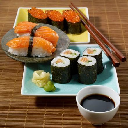 Nigiri-Sushi (Handgeformte Reisbällchen) Rezept