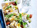 Nimm-mit-Nudelsalat mit Hähnchen Rezept