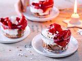 No-Bake-Cheesecake mit Apfelkompott Rezept