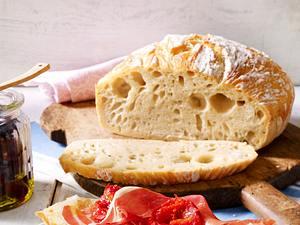 """No-knead bread"" – Brot ohne Kneten Rezept"