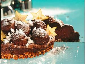 Nougat-Mousse-Torte Rezept