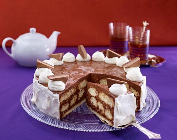 Nougat-Torte Rezept