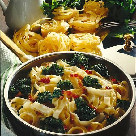 Nudel-Broccoli Pfanne Rezept