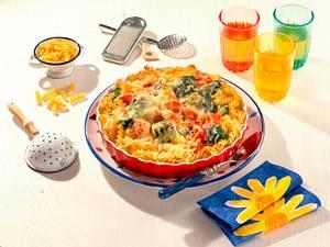 Nudel-Broccoli-Tomatenauflauf Rezept