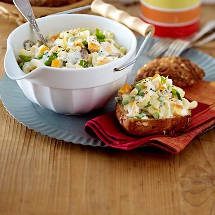 Nudel-Eier-Salat Rezept