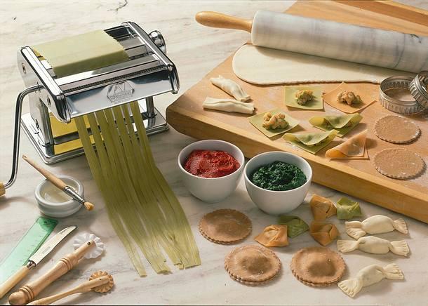Nudel-Eierteig (Bunte Tortellini) Rezept