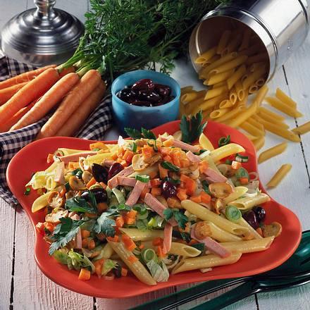 Nudel-Salat mit Fleischwurst Rezept