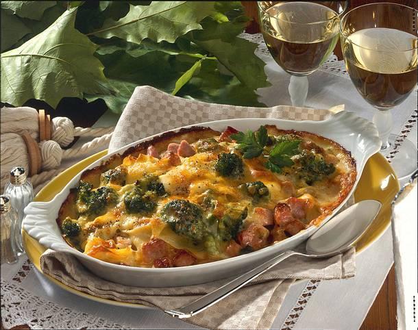 Nudelauflauf mit Broccoli Rezept