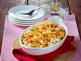 Nudelauflauf mit Hähnchen und Rucola (Maccaroni and Cheese) Rezept