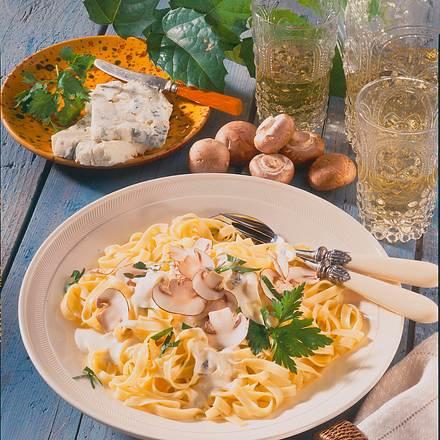 Nudeln in Gorgonzola-Mascarpone-Soße Rezept