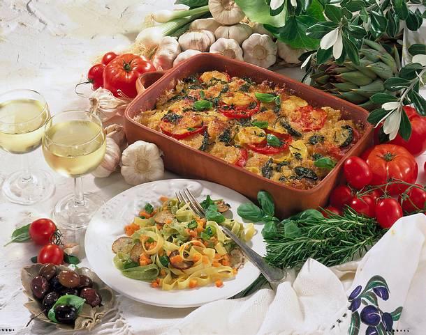 Nudeln mit Gemüse Rezept