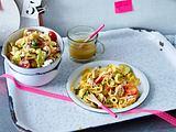 Nudelsalat mit Kichererbsen und Avocao Rezept
