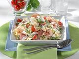 Nudelsalat mit Rauke und Tomaten Rezept