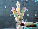 Bunte Marshmallow-Raketen Rezept